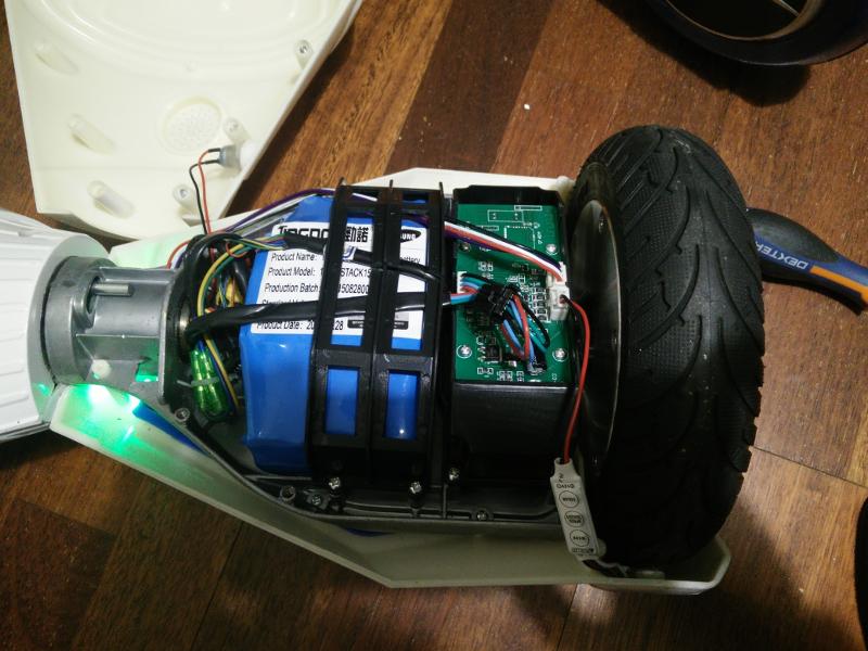 bateria del hoverboard patinete electrico